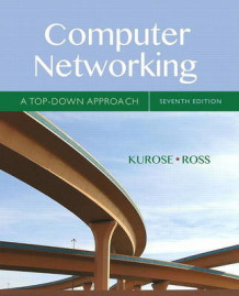 Computer Networking av James Kurose og Keith Ross (Heftet)