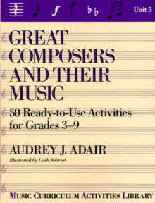 Great Composers and Their Music: Unit 5 av Audrey J. Adair-Hauser (Heftet)