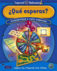 Connected Mathematics Spanish Grade 7 Student Edition What Do You Expect (Heftet)