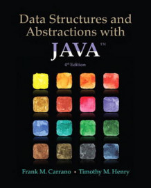 Data Structures and Abstractions with Java av Frank M. Carrano og Timothy D. Henry (Heftet)