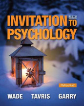 Invitation to Psychology Plus New Mylab Psychology with Pearson Etext -- Access Card Package av Maryanne Garry, Carol Tavris og Carole Wade (Blandet mediaprodukt)