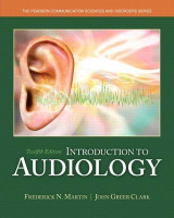 Omslag - Introduction to Audiology with Video-Enhanced Pearson eText Package
