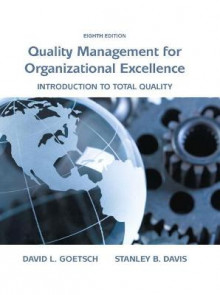 Quality Management for Organizational Excellence av David L. Goetsch og Stanley Davis (Innbundet)