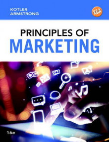 Principles of Marketing av Philip Kotler og Gary Armstrong (Innbundet)
