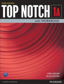A Top Notch 1 Student Book/Workbook Split av Joan M. Saslow og Allen Ascher (Heftet)