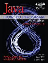 Omslag - Java How to Program, Early Objects Plus MyProgrammingLab with Pearson eText - Access Card Package