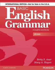 Basic English Grammar av Betty Schrampfer Azar og Stacy A. Hagen (Blandet mediaprodukt)
