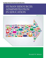 Omslag - Human Resources Administration in Education with Enhanced Pearson eText -- Access Card Package