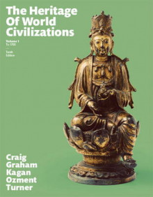 The Heritage of World Civilizations: Volume 1 av Albert M. Craig, William A. Graham, Donald M. Kagan, Steven E. Ozment, Frank M. Turner og Alison Frank (Heftet)