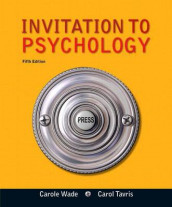Invitation to Psychology with Dsm5 Update, Books a la Carte Edition Plus Mypsychlab with Pearson Etext -- Access Card Package av Carol Tavris og Carole Wade (Blandet mediaprodukt)