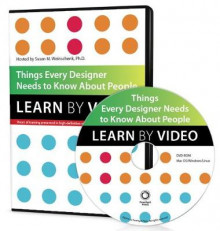 Things Every Designer Needs to Know About People av Susan Weinschenk (DVD-ROM)