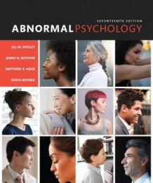 Abnormal Psychology av James N. Butcher, Matthew K. Nock, Susan M. Mineka og Jill M. Hooley (Innbundet)