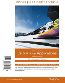 Calculus with Applications Brief Version Books a la Carte Edition av Margaret L Lial, Raymond N Greenwell og Nathan P Ritchey (Perm)