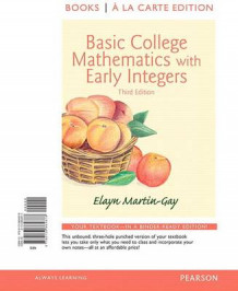 Basic College Mathematics with Early Integers, Books a la Carte Edition av Elayn Martin-Gay (Perm)