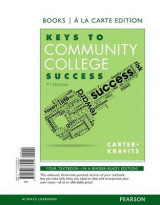 Omslag - Keys to Community College Success, Student Value Edition