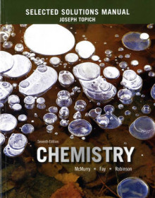 Selected Solutions Manual for Chemistry av John E. McMurry, Robert C. Fay, Jill Kirsten Robinson og Joseph Topich (Heftet)