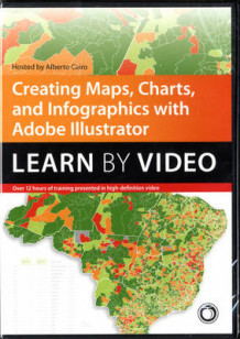 Creating Maps, Charts, and Infographics with Adobe Illustrator av Alberto Cairo (DVD-ROM)