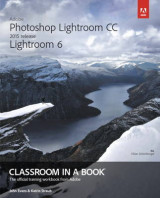 Omslag - Adobe Photoshop Lightroom CC (2015 release) / Lightroom 6 Classroom in a Book