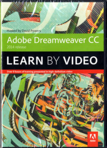 Adobe Dreamweaver CC Learn by Video (2014 Release) av David Powers (DVD-ROM)