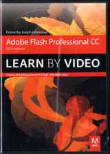 Omslag - Adobe Flash Professional CC Learn by Video (2014 release)