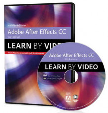 Adobe After Effects CC Learn by Video (2014 Release) av Jeff Foster (DVD-ROM)