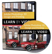 Adobe Photoshop for 3D Design and Printing av Steve Caplin (DVD-ROM)