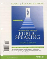Omslag - The Essential Elements of Public Speaking, Books a la Carte Plus Mycommunicationlab -- Access Card Package