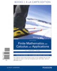 Finite Mathematics and Calculus with Applications Books a la Carte Plus Mymathlab Package av Margaret L Lial (Blandet mediaprodukt)