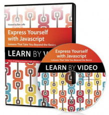 Express Yourself with JavaScript av Ben Jaffe (DVD-ROM)