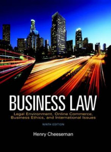 Business Law, Student Value Edition, av Henry R Cheeseman (Perm)
