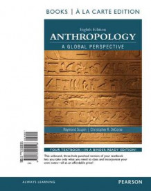Anthropology a Global Perspective, Books a la Carte Edition av Raymond Scupin og Christopher R DeCorse (Perm)