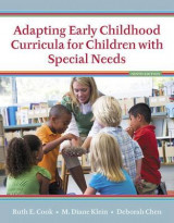 Omslag - Adapting Early Childhood Curricula for Children with Special Needs, Enhanced Pearson Etext with Loose-Leaf Version -- Access Card Package