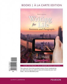 Writing for Life av D J Henry og Dorling Kindersley (Perm)