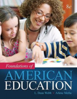 Omslag - Foundations of American Education, Enhanced Pearson Etext with Loose-Leaf Version -- Access Card Package