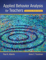 Omslag - Applied Behavior Analysis for Teachers Interactive Ninth Edition, Enhanced Pearson Etext with Loose-Leaf Version -- Access Card Package