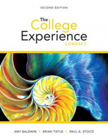 College Experience Compact, the Plus New Mylab Student Success with Pearson Etext -- Access Card Package av Amy Baldwin, Brian Tietje og Paul G Stoltz (Blandet mediaprodukt)