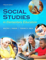 Omslag - Social Studies in Elementary Education, Enhanced Pearson Etext with Loose-Leaf Version -- Access Card Package