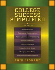 College Success Simplified with Access Code av Enid Leonard (Blandet mediaprodukt)