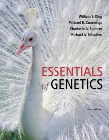 Essentials of Genetics Plus Masteringgenetics with Etext -- Access Card Package av William S Klug, Michael R Cummings, Charlotte A Spencer og Michael A Palladino (Blandet mediaprodukt)