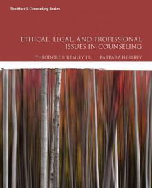Ethical, Legal, and Professional Issues in Counseling av Theodore P. Remley Jr. og Barbara P. Herlihy (Heftet)