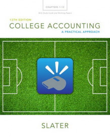 College Accounting Chapters 1-12 with Study Guide and Working Papers Plus MyAccountingLab with Pearson eText -Access Card Package av Jeffrey Slater (Blandet mediaprodukt)
