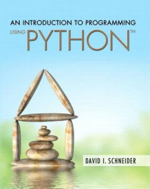 An Introduction to Programming Using Python Plus Myprogramminglab with Pearson Etext -- Access Card Package av David I Schneider (Blandet mediaprodukt)