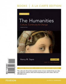 Humanities, The, Volume 2 Alc and Revel AC Humanitiies V2 Package av Henry M Sayre (Blandet mediaprodukt)