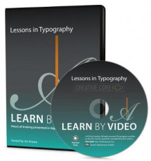 Lessons in Typography Learn by Video av Jim Krause (DVD-ROM)