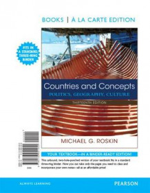 Countries and Concepts av Michael G Roskin (Blandet mediaprodukt)