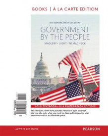 Government by the People, 2014 Elections and Updates Edition, Books a la Carte Plus New Mypoliscilab for American Government -- Access Card Package av Distinguished Professor of Political Science David B Magleby, Paulette Goddard Professor of Public Service Paul C Light og Christine L Nemacheck (Blandet mediaprodukt)