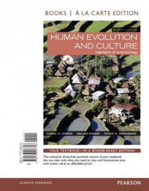 Human Evolution and Culture, Books a la Carte Edition Plus New Myanthrolab for Anthropology -- Access Card Package av Melvin R Ember, Carol R Ember og Peter N Peregrine (Blandet mediaprodukt)