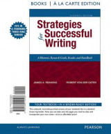 Omslag - Strategies for Successful Writing, Books a la Carte Edition
