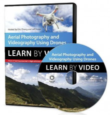 Aerial Photography and Videography Using Drones Learn by Video av Jeff Foster og Eric Cheng (DVD-ROM)