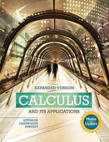 Calculus and its Applications Expanded Version Media Update av Marvin L. Bittinger, David J. Ellenbogen og Scott J. Surgent (Innbundet)